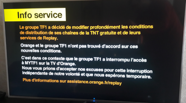 bug replay orange tf1