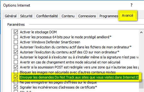 do not track internet explorer tutorial